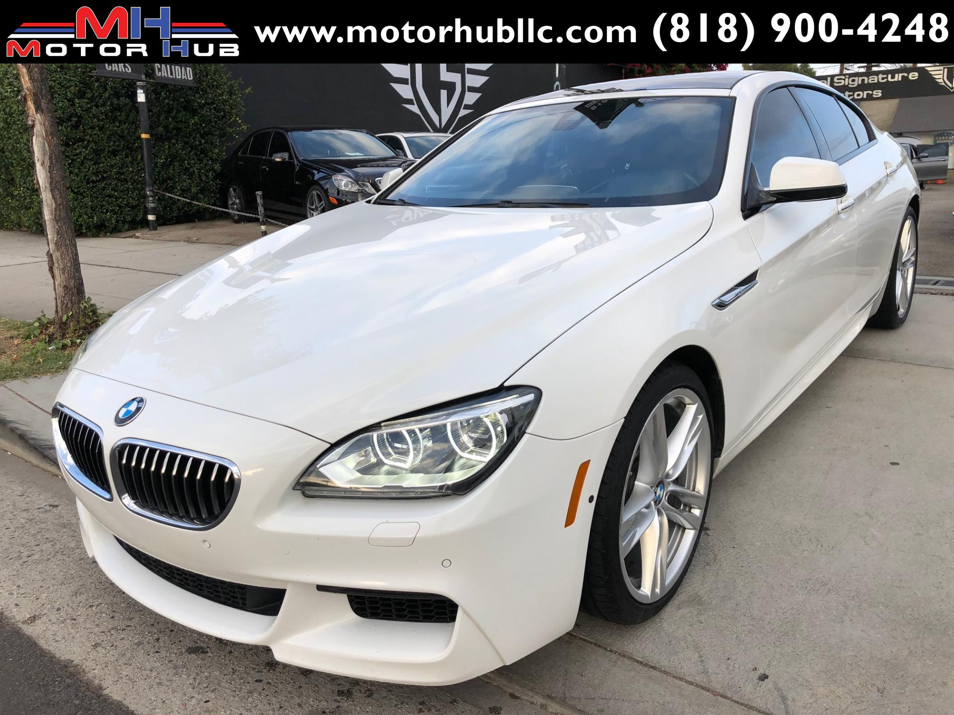 2015 Bmw 6 Series 640 Gran Coupe Stock B53762 For Sale
