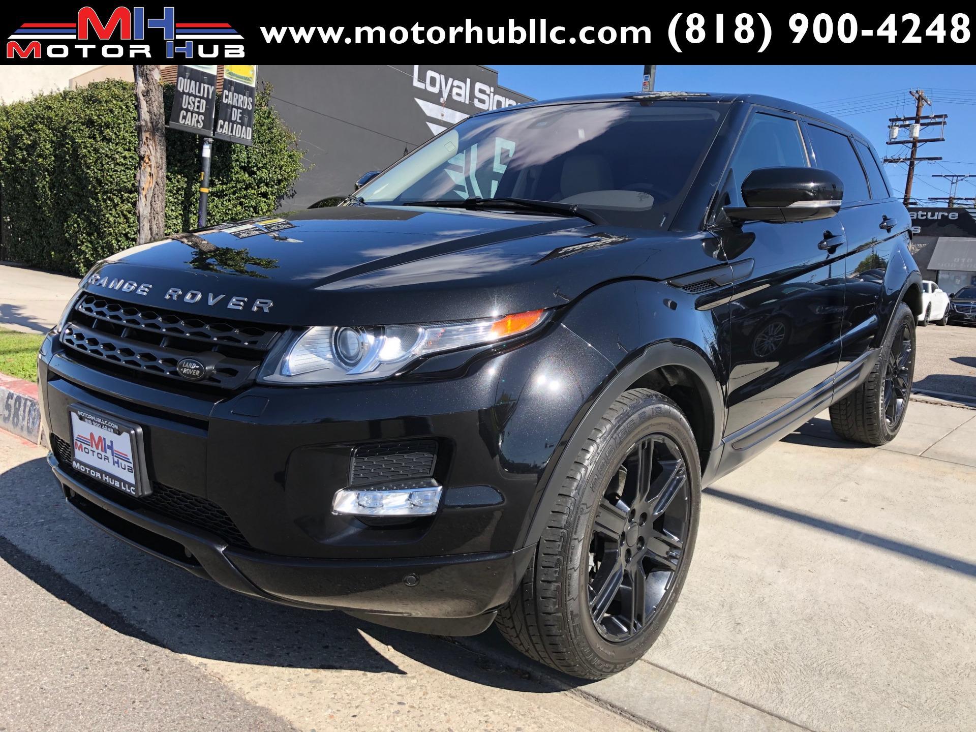 2013 Land Rover Range Rover Evoque Pure Plus Stock 826940 For Sale Near Van Nuys Ca Ca Land Rover Dealer
