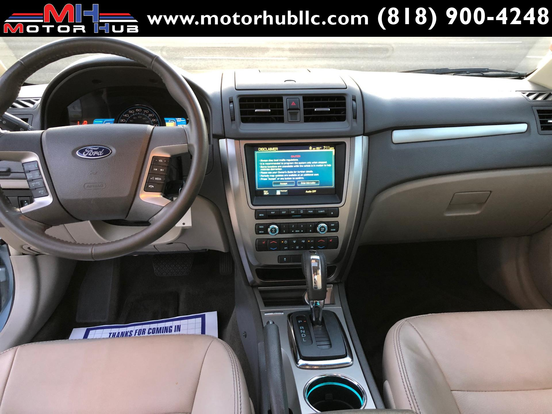 2010 Ford Fusion Hybrid Stock 328881 For Sale Near Van Nuys Ca Ca Ford Dealer